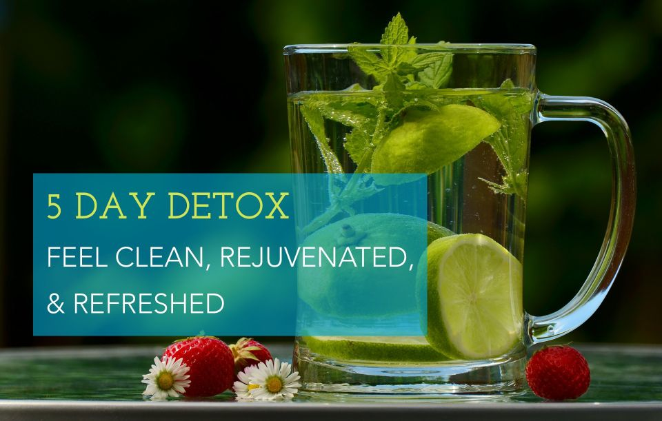 1 of 2 online programs Marian offers is her 5 Day Detox. A gentle detox that won't leave people hangry for 5 days but still effective in ridding the body of toxins, increasing energy, and helping people feel better.